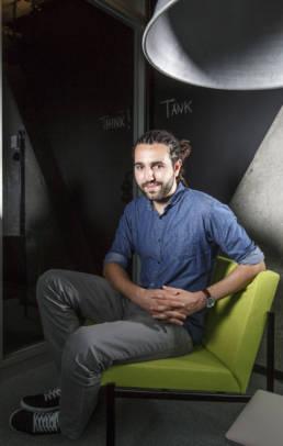 Tarek Müller, Chef der Otto-Tochtergesellschaft Collins Projekt